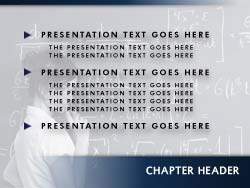 Free Teacher PowerPoint Template Slide Master
