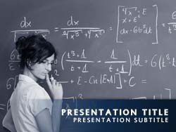 Free Teacher PowerPoint Template