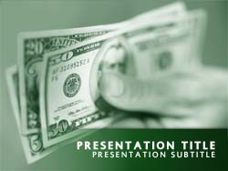 free money powerpoint template, Modern powerpoint