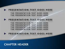 Free Communications PowerPoint Template Slide Master