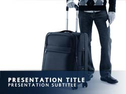 Royalty Free Travel PowerPoint Template Title Master
