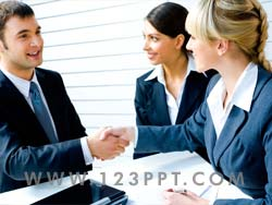 Business Agreement Photo Image