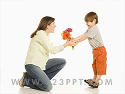 Child's Love Photo Image