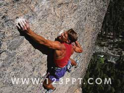 Rock Climbing Photo Image
