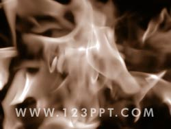 Abstract Fire powerpoint background