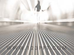 Escalator powerpoint background