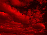 Coloured Clouds PowerPoint Background