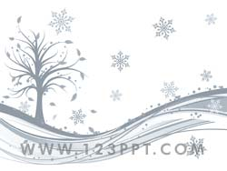 Winter powerpoint background