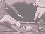 Soccer Tackle PowerPoint Background