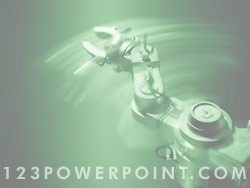 Royalty Free Robotics and Automation PowerPoint Background ...