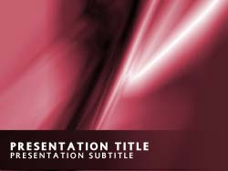 Abstract Silk  Title Master slide design