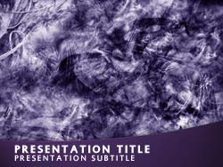 Abstract Title Master slide design