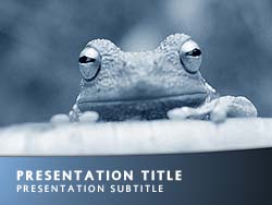 Frog Title Master slide design