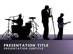 Royalty free idol powerpoint template in purple idol title master slide design toneelgroepblik Gallery