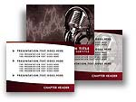 Music Studio PowerPoint Template