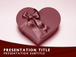 Valentines Day Title Master slide design