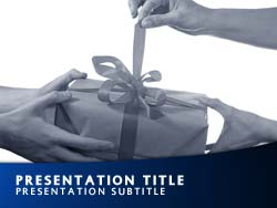 Present Title Master slide design
