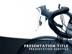 Cycle Title Master slide design