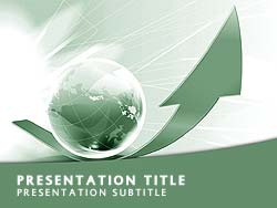 Global Expansion Title Master slide design