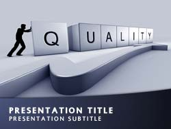 Royalty free quality powerpoint template in blue quality title master slide design toneelgroepblik Images