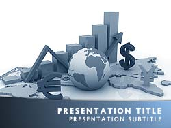 Royalty free world economy powerpoint template in blue the world economy powerpoint template in blue for microsoft powerpoint toneelgroepblik Images