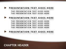 royalty free wall street powerpoint template in orange, Presentation templates