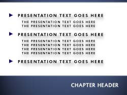 royalty free wall street ny powerpoint template in blue, Presentation templates