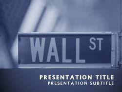 Wall Street NY Title Master slide design