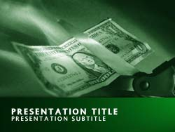 Cutting Costs Title Master slide design