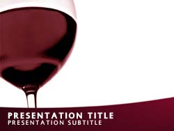 Wine Title Master slide design