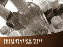 Alcohol Title Master slide design