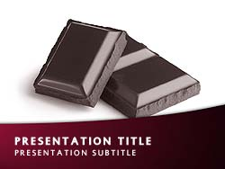 Chocolate Title Master slide design