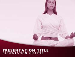 Yoga Title Master slide design