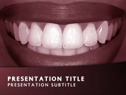 Smile Title Master slide design