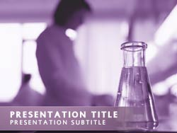 Free laboratory research powerpoint template in purple laboratory research title master slide design toneelgroepblik Image collections