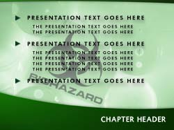 royalty free biohazard powerpoint template in green. Black Bedroom Furniture Sets. Home Design Ideas