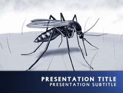 Malaria Title Master slide design