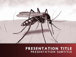 Royalty free malaria powerpoint template in red malaria title master slide design toneelgroepblik Gallery