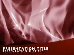 Fire Title Master slide design