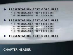royalty free tornado powerpoint template in blue, Modern powerpoint