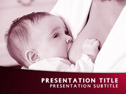 Breastfeeding Title Master slide design