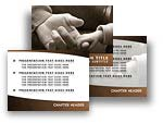 Baby Holding Finger PowerPoint Template