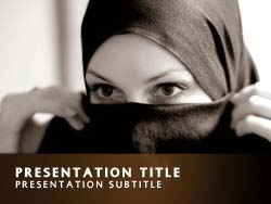 Muslim Title Master slide design
