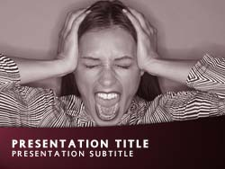 Frustration Title Master slide design