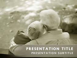 Royalty free growing old together powerpoint template in yellow growing old together title master slide design toneelgroepblik Gallery
