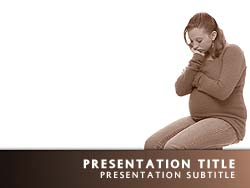 Pregnant Teen Title Master slide design