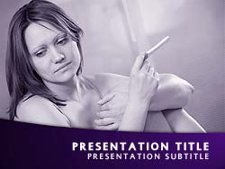 Teen Pregnancy Title Master slide design
