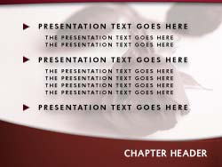 Royalty Free Funeral Powerpoint Template In Red