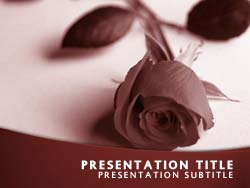 Free funeral powerpoint template in red funeral title master slide design toneelgroepblik Images