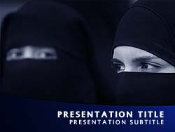 Royalty free islam powerpoint template in blue islam title master slide design toneelgroepblik